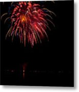 Fireworks II Metal Print by Christopher Holmes