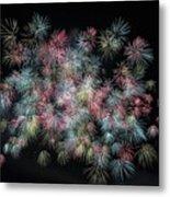 fireworks in Japan Metal Print