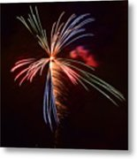fireworks in Japan Metal Print