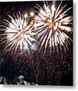 Fireworks No.5 Metal Print by Niels Nielsen
