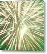 Fireworks Metal Print by Ronald Britton