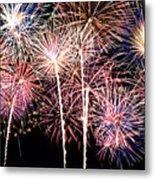 Fireworks Spectacular Metal Print