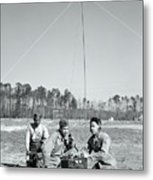 First African American United States Marines 1942 Metal Print