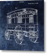 First Ambulance Patent Metal Print