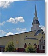 First Baptist Church - Pflugerville Texas Metal Print