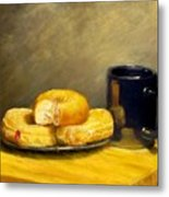 First Call...breakfast Metal Print