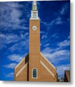 First Congregational Church Metal Print