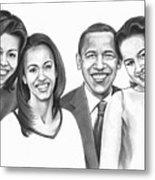First-family 2013 Metal Print