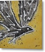 First Flight Original Painting Metal Print