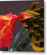First Flower Metal Print