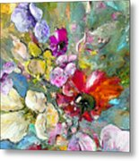 First Flowers Metal Print