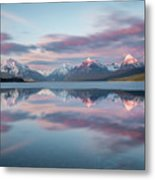 First Ice Off // Lake Mcdonald, Glacier National Park  Metal Print