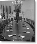 First Lady Betty Ford Dances Metal Print by Everett