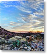 First Light In Valley Of Fire Metal Print