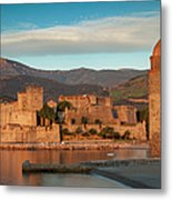 First Light Over Collioure Metal Print