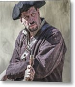 First Line Of Defense The Frontiersman Metal Print