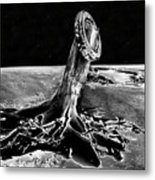 First Men On The Moon Metal Print