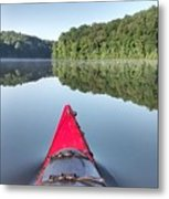 First On The Water Metal Print