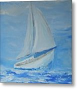 First Sail Metal Print