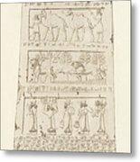First Side Of Obelisk, Illustration From Monuments Of Nineveh Metal Print