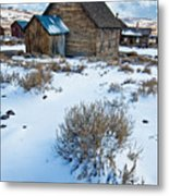 First Snow  Bodie Metal Print