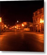 First Street Nocturne Metal Print