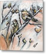 First Sure Sign Of Spring Metal Print
