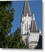 First United Methodist Metal Print