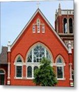 First United Methodist Church Tupelo Ms Metal Print