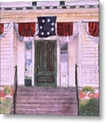 First White House Of The Confederacy Metal Print