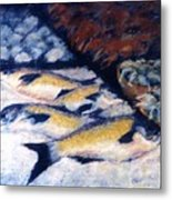 Fish And Shellfish Metal Print