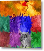Fish Are Jumping Metal Print by Tom Romeo