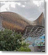 Fish By Frank Owen Gehry - Olympic Village - Barcelona Spain Metal Print