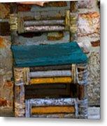 Fish Chair Metal Print