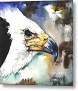 Fish Eagle II Metal Print