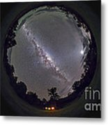 Fish-eye Panorama Of The Southern Night Metal Print