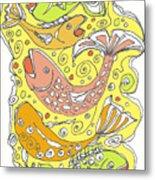 Fish Fish Metal Print