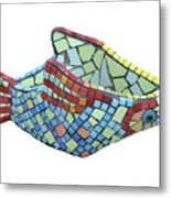 Fish Metal Print by Katia Weyher