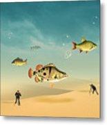 Fish Life  Metal Print