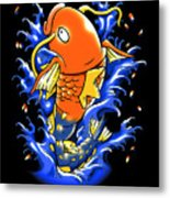 Fish Lucky Metal Print