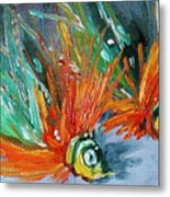 Fish Lures Metal Print