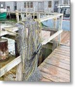 Fish Net Metal Print
