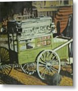 Fish Peddler Metal Print