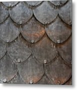 Fish Scales Metal Print