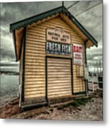 Fish Shed Metal Print