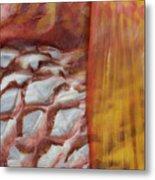Fish Skin Metal Print