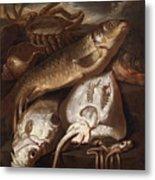 Fish Still Life Metal Print