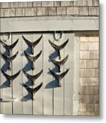 Fish Tail Shack Metal Print