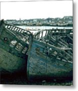 Fisher Boats Metal Print