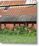 Fisher Road Barn 3 Photograph Metal Print